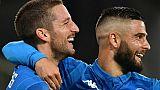 Italie: Naples punit Empoli 5-1 avant le PSG