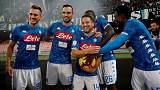 Mertens shines with hat-trick for five-star Napoli