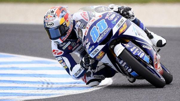 Moto3: pole a Martin, Bezzecchi secondo