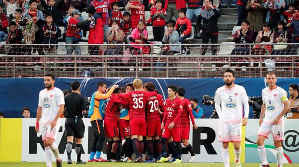 Brazilian duo put Antlers in control in AFC Champions League final