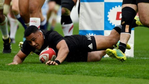 Rugby: les jeunes pousses de Nouvelle-Zélande battent largement le Japon