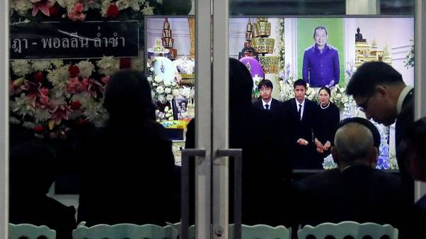 Leicester City owner's Buddhist funeral starts in Thailand with royal honour