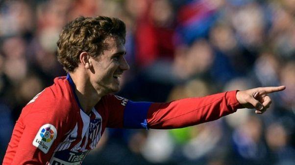 Espagne: l'Atlético bute sur Leganés 1-1 malgré Griezmann