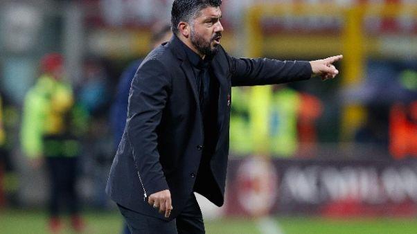 "Gattuso: ""No sorrisi, Milan batta ferro"""