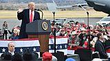 Donald Trump le 3 novembre 2018 à Belgrade, Montana