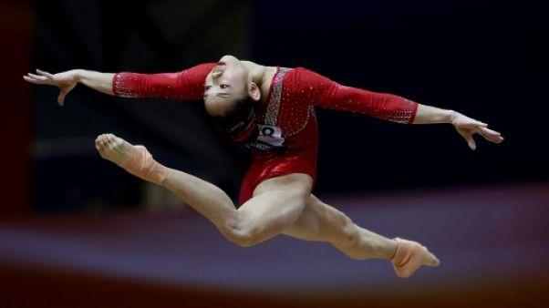 Mondiaux de gymnastique: la Chinoise Liu Tingting en or à la poutre, Biles en bronze