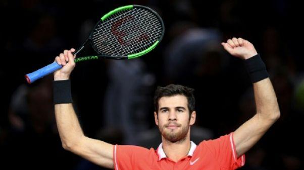 Tennis: première finale en Masters 1000 pour Khachanov à Paris