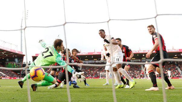 هدف راشفورد في اللحظات الأخيرة يمنح يونايتد الفوز في بورنموث