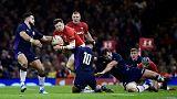 North, Davies lead Wales to scrappy win over Scotland