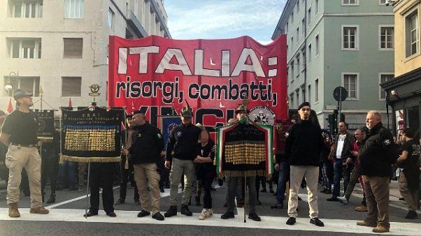 """Corteo CasaPound """"Italia risorgi'"""