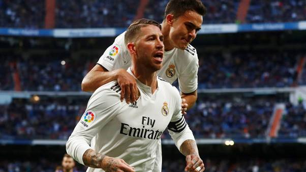 Real grab much-needed win with late goals against Valladolid