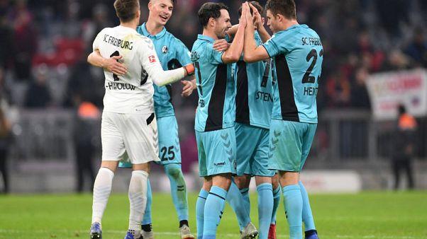 Freiburg stun champions Bayern with late equaliser