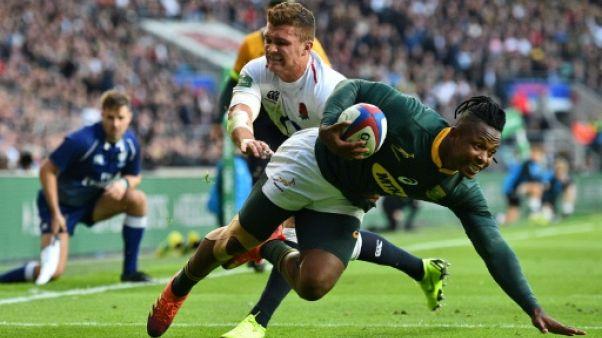 Rugby: l'Angleterre chanceuse face à l'Afrique du Sud