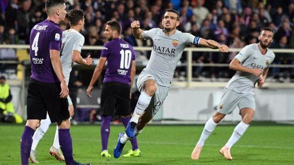 Fiorentina-Roma 1-1