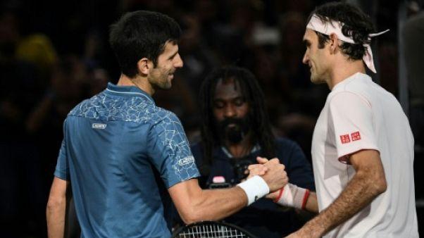 Masters 1000 Paris: l'inarrêtable Djokovic vient à bout d'un Federer étincelant