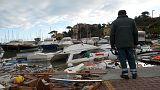 ارتفاع عدد ضحايا عواصف إيطاليا إلى 17 قتيلا