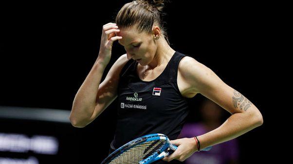 Pliskova pulls out of Czech team for Fed Cup final vs. U.S.
