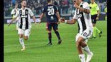 Serie A: Juventus-Cagliari 3-1