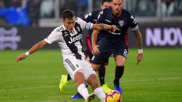 Juve stay six points clear with win over Cagliari