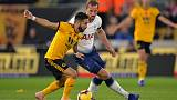 Nervy Spurs hang on to win at Wolves