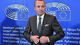 Le député européen allemand Manfred Weber, à Bruxelles le 10 septembre 2018