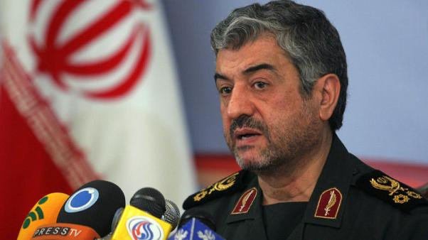 Guards chief says Iran will resist, defeat U.S. sanctions - state TV