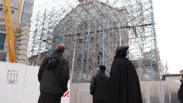 La Basilica di Norcia rinascerà com'era