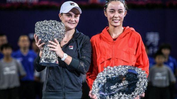 Tennis: le patron de la WTA espère que le Masters bis restera à Zhuhai