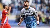 La Lazio riparte, è 4-1 alla Spal