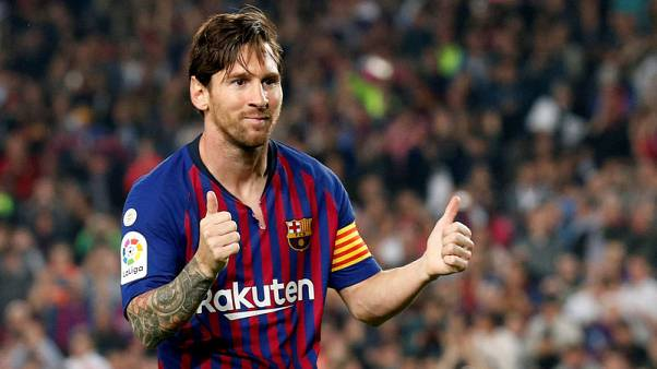 Messi in Barca squad for Inter match, not yet cleared to play
