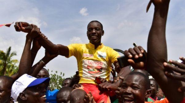 Cyclisme: le Burkinabè Sorgho remporte le 31e Tour du Faso, marqué par les mesures de sécurité