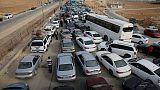 الرسوم الجمركية والمنافسة تحبطان المصدرين اللبنانيين بعد فتح معبر نصيب