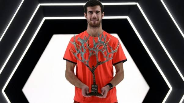 Masters 1000 de Paris: Khachanov, flamboyant, douche Djokovic