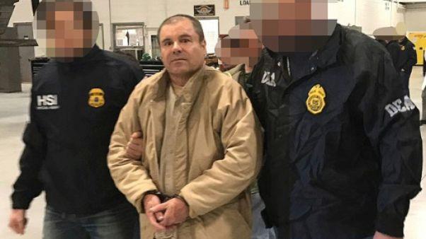 Le narcotrafiquant El Chapo en procès à New York à partir de lundi