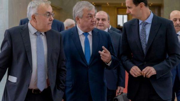 Syrie: Assad discute du comité constitutionnel avec un émissaire russe