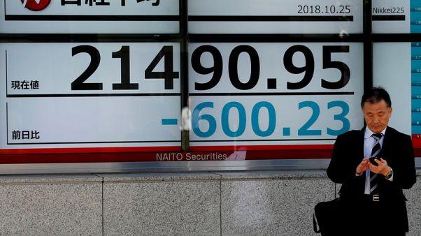 نيكي يهبط 1.08% في بداية التعامل بطوكيو