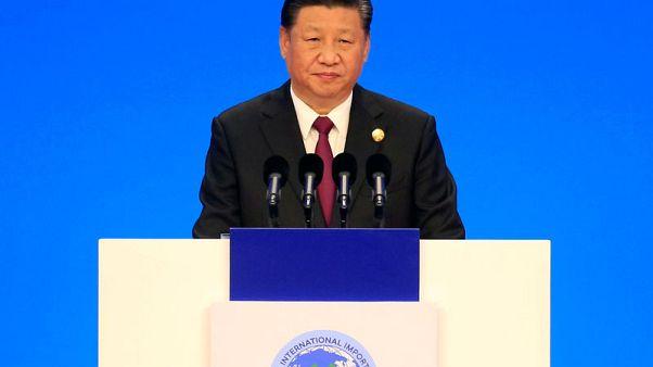 China's Xi Jinping promises lower tariffs, more imports
