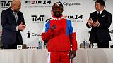 Mayweather takes his money team to mystery fight in Japan