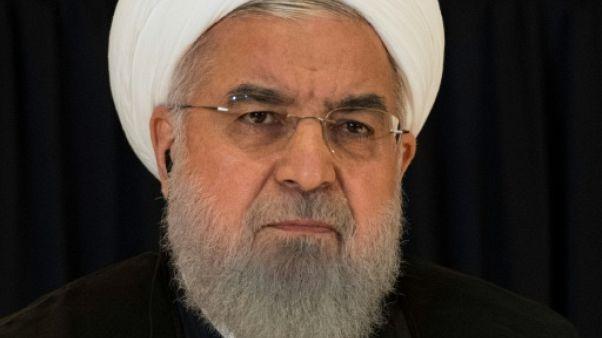 Le président iranien Hassan Rohani, le 26 septembre 2018 à New York