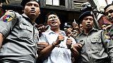Birmanie: les deux journalistes de Reuters emprisonnés ont fait appel