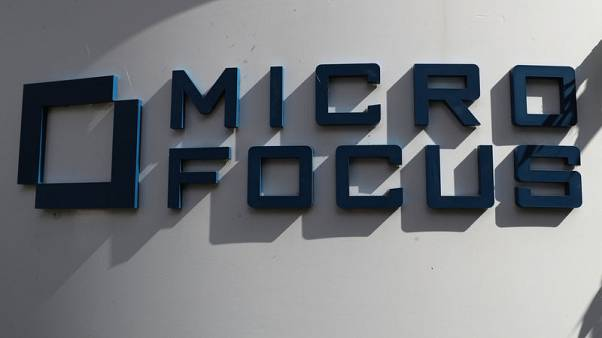 Micro Focus sees revenue at higher end of outlook range
