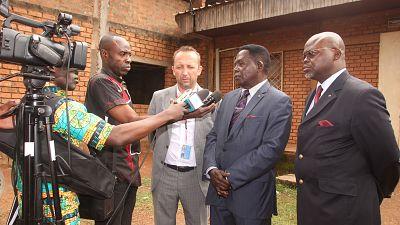 Ecolog International engagé avec la création du Laboratoire informatique de l'université de Bangui