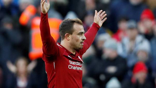 Shaqiri to miss Liverpool trip to Belgrade