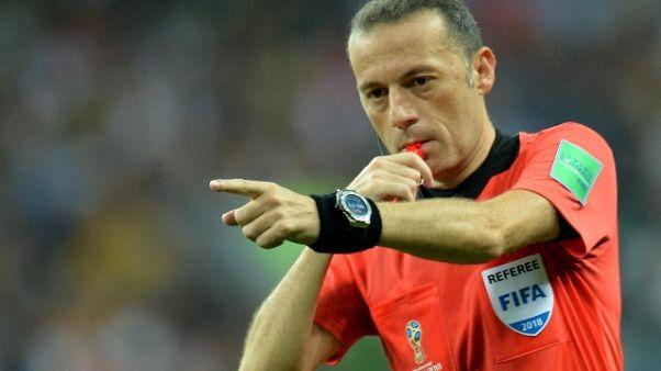 Champions: Cakir arbitra Cska-Roma