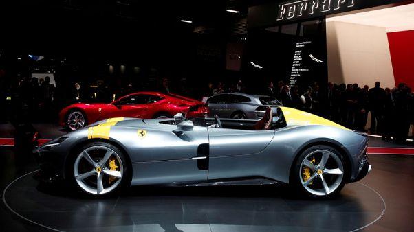 Ferrari's earnings rise, lack of full-year upgrade hits shares