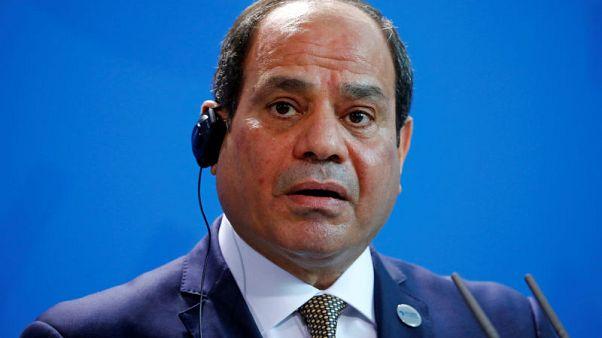 "Egypt's Sisi says law curbing NGOs needs to be more ""balanced"""