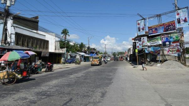 Une route à Tacloban, aux Philippines le 1er novembre 2018