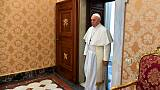 Pope condemns anti-Semitism amid increase in attacks on Jews