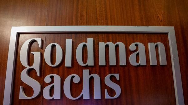 Goldman says it is ahead of schedule on $5 billion revenue goal