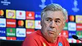 """Naples: """"Pour battre le PSG, il faudra quelque chose d'extraordinaire"""" (Ancelotti)"""